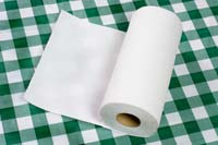 Unused paper towel A hub for bacteria