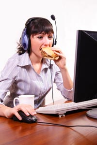 Working Women More Likely to Put on Weight