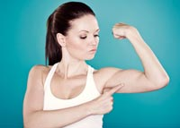 How to Lose Weight under the Biceps