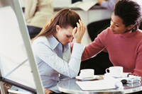 Crying at Work Boosts Womens Career