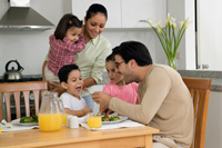 Kids Pick Healthy Eating Habits From Parents