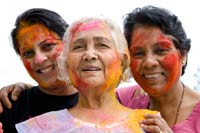 Skin care in holi