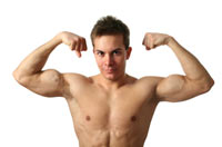 Muscular boys likely to live longer