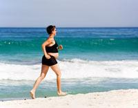 Severe pelvic pain when running