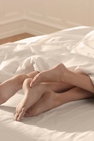 Relationship between Feet and Sex