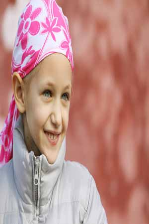 cancer affected girl in need of care