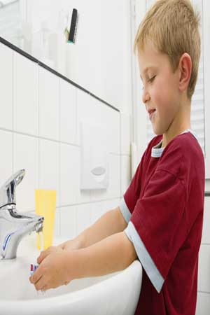 Personal hygiene boosts growth in kids
