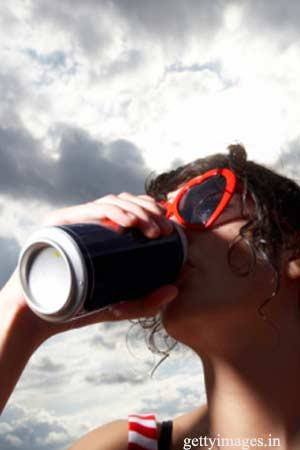 Fizzy drinks may be unhealthful