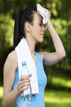 weight loss in hot weather