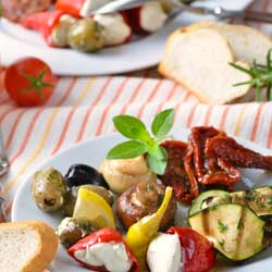 Mediterranean Diet wards off Heart Disease