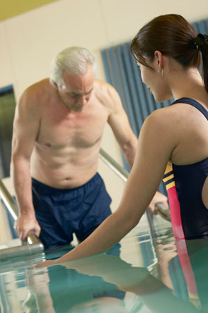 Hydrotherapy for Hip Bursitis