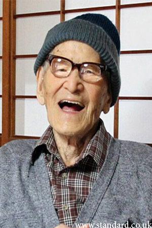 Jiroemon Kimura 2013 Oldest Man in H...