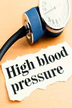 Sphygmomanometer with high BP headline