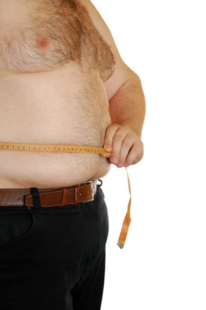 Lose Weight in the Midsection for Males