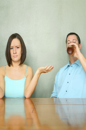 alcohol affects marriage