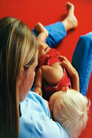 pregnancy signs in nursing mothers