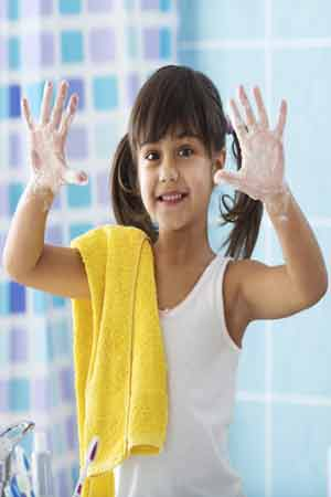 benefits of hand washing