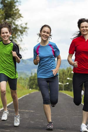 Exercising benefits for teens