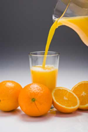 fresh fruit juice is healthful