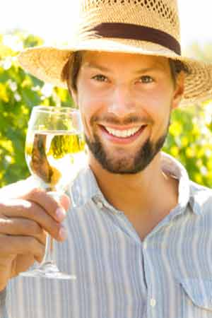 wine reduce depression