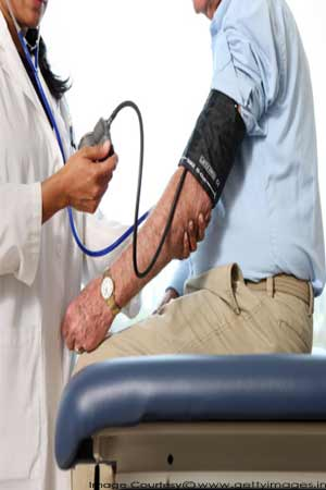 problem of high blood pressure
