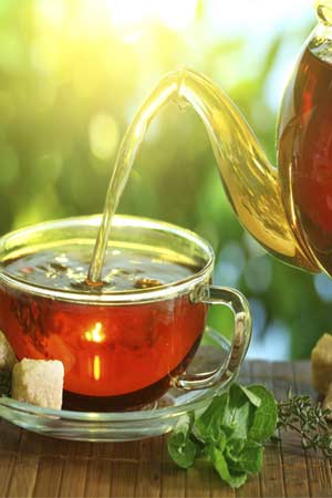 Tea boosts brain power