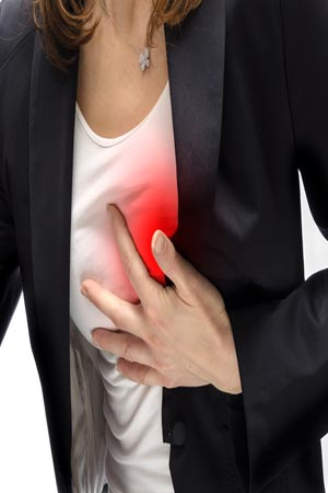 women more likely to suffer from heart diseses