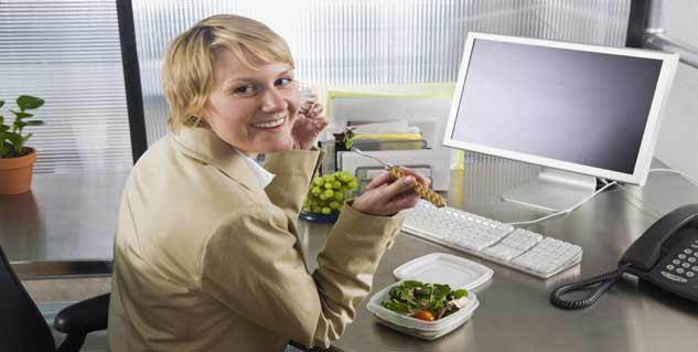 7 Healthy Office Habits