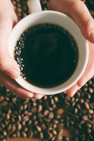 drinking coffee cuts risk of death from liver cirrhosis