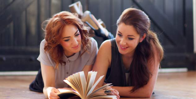 reading books helps to lose weight