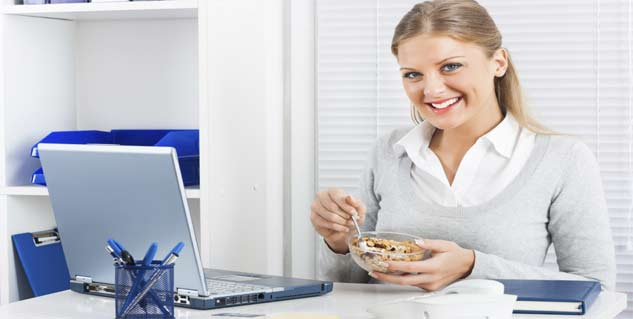Healthy Foods for Office Goers