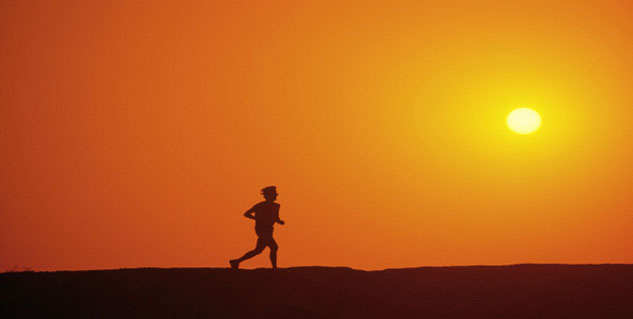 running for 5 minutes improves health