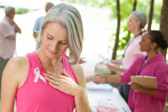 test of breast cancer in hindi