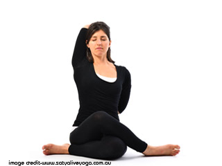Yoga for Health - Gomukhasana
