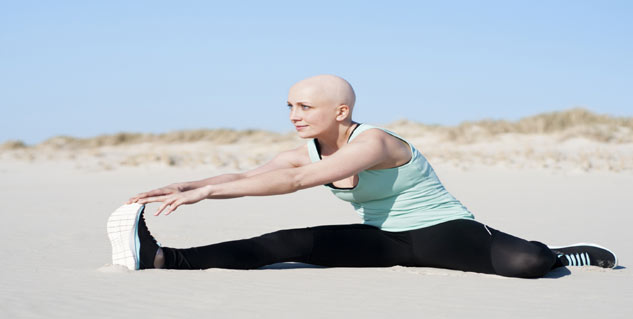 cancer patient exercising