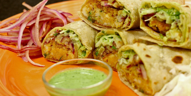 veg kathi kabab in hindi