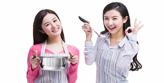 Cooking In Healthy Cookware