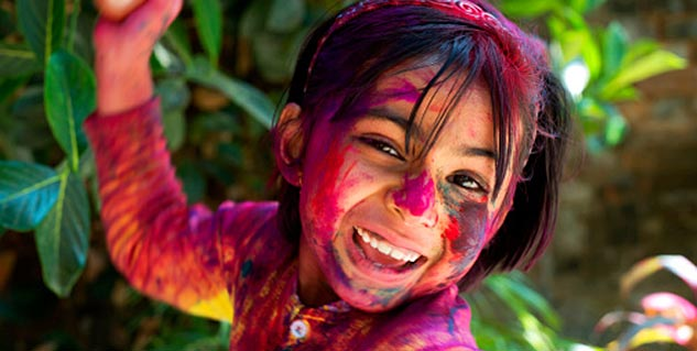 how to remove holi colour