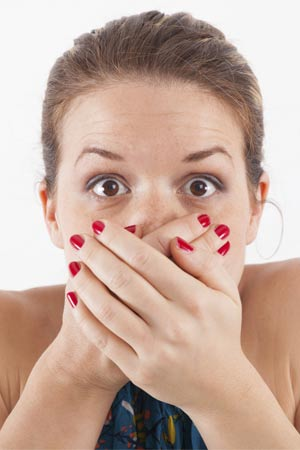 bad breath stress