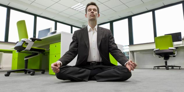 yoga in office