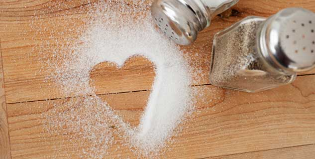 salt effect on heart