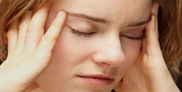 symptoms of tension headache