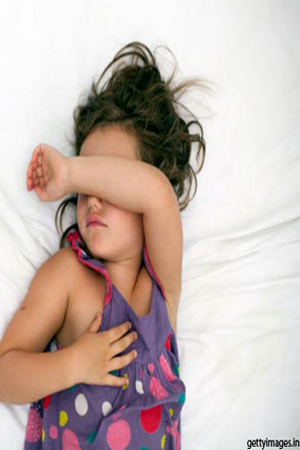 sleeping problem in kids