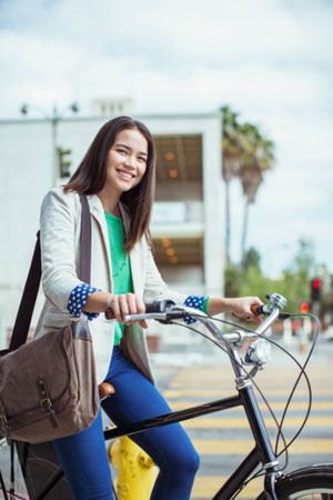 Bicyclists are the Happiest Travelers