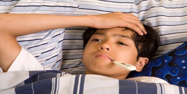 fever is one of the common symptoms in ADEM