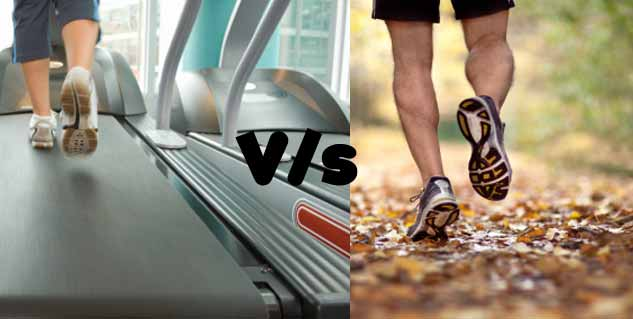 treadmill vs. running