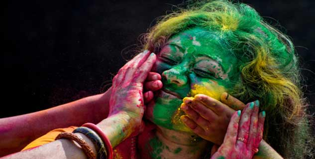 Holi Colours in Hindi