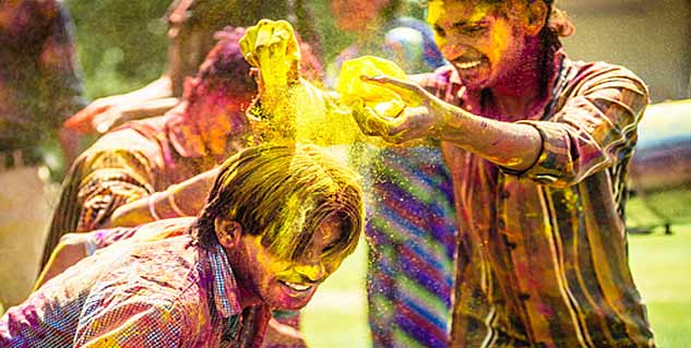 Holi Hair Care