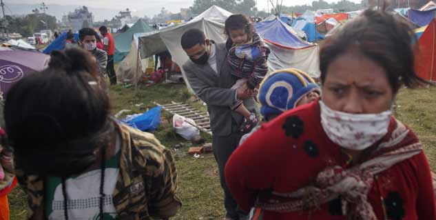 Nepal Earthquake Health Risks
