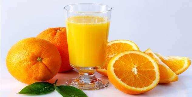 Orange juice therapy for anorexia